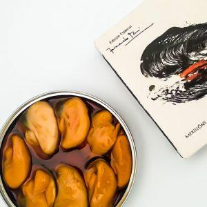 Mexillóns fritidos en escabeche (6/8 pezas, grandes). Edición Fernando Rei